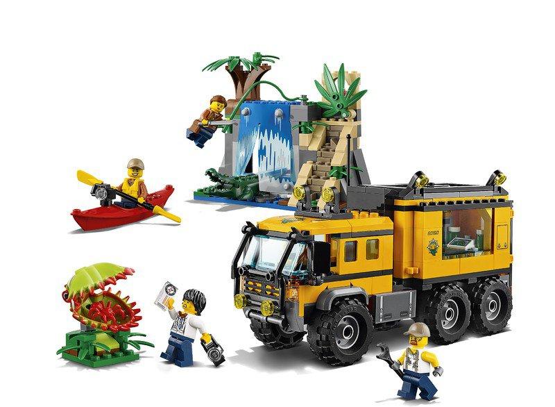 LEGO 60160 City: Jungle mobiel laboratorium