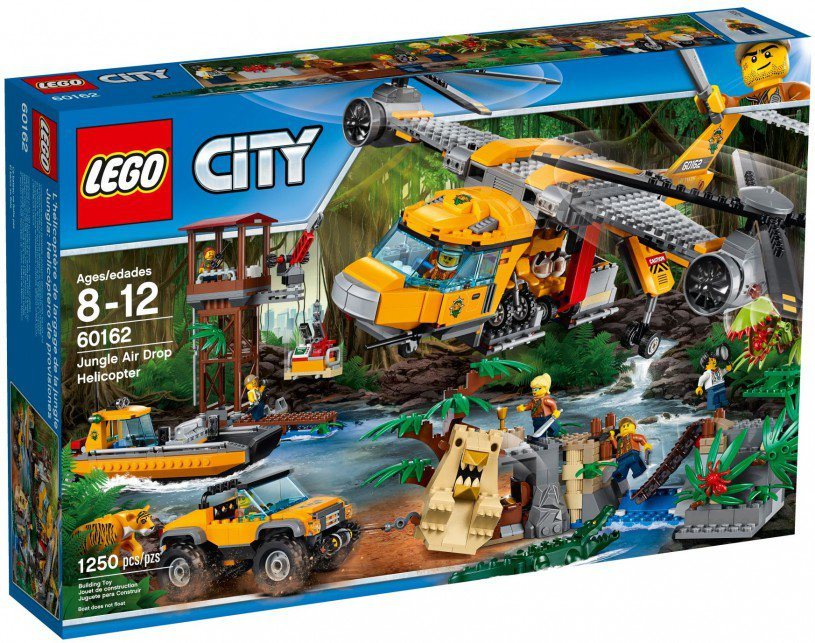 LEGO 60162 City: Jungle helikopterdropping