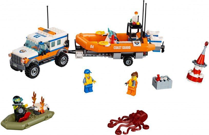 LEGO 60165 City: Kustwacht Reddingsvoertuig 4x4