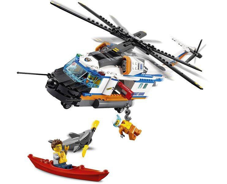 LEGO 60166 City: Kustwacht Zware reddingshelikopter