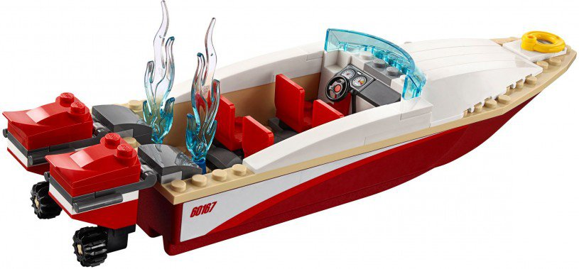 LEGO 60167 City: Kustwacht Boot & hoofdkwartier