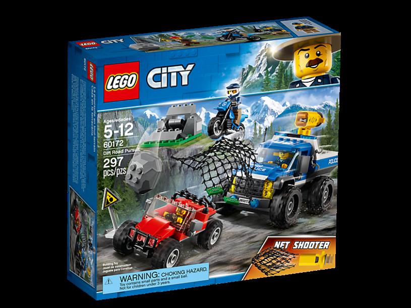LEGO 60172 City: Modderwegachtervolging