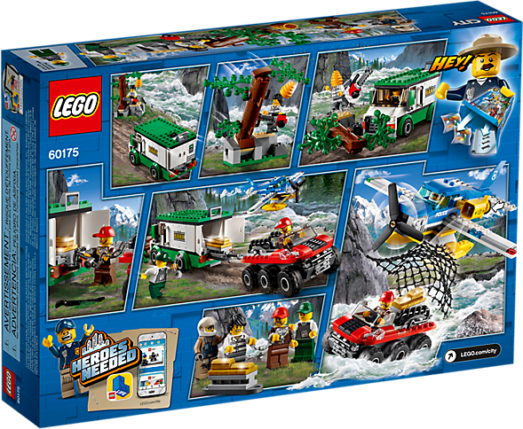 LEGO 60175 City: Bergrivieroverval