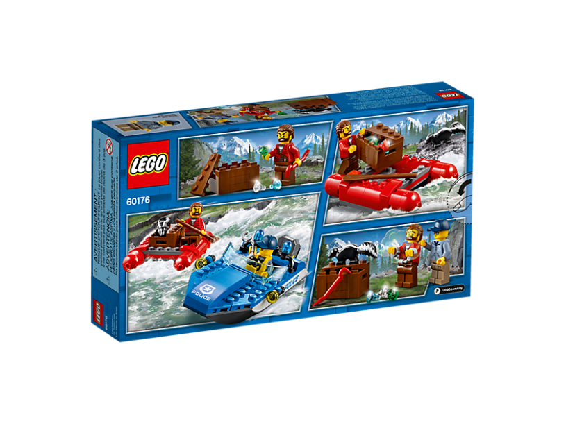 LEGO 60176 City: Wilde rivierontsnapping