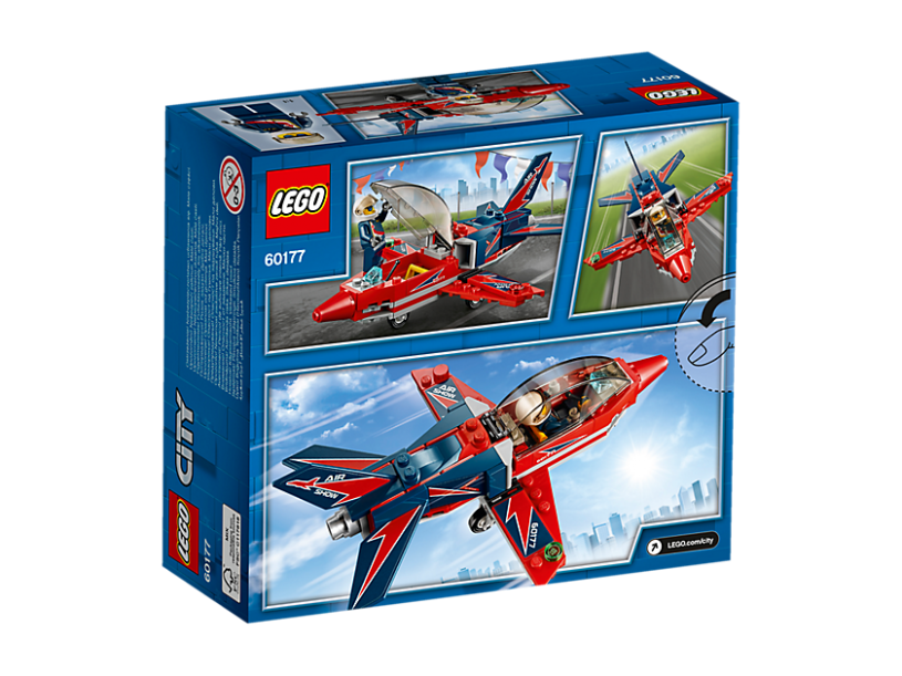 LEGO 60177 City: Vliegshowjet