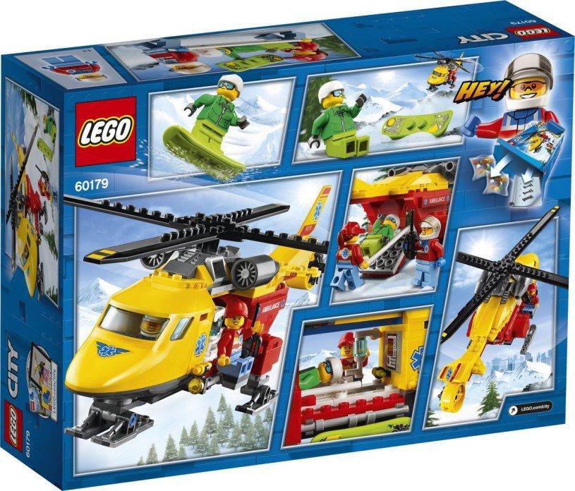 LEGO 60179 City: Ambulance helikopter