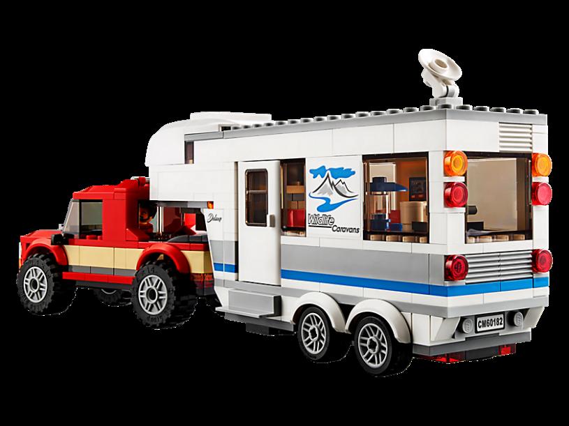LEGO 60182 City: Pick-uptruck en caravan