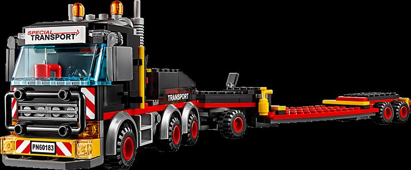 LEGO 60183 City: Zware-vrachttransporteerder