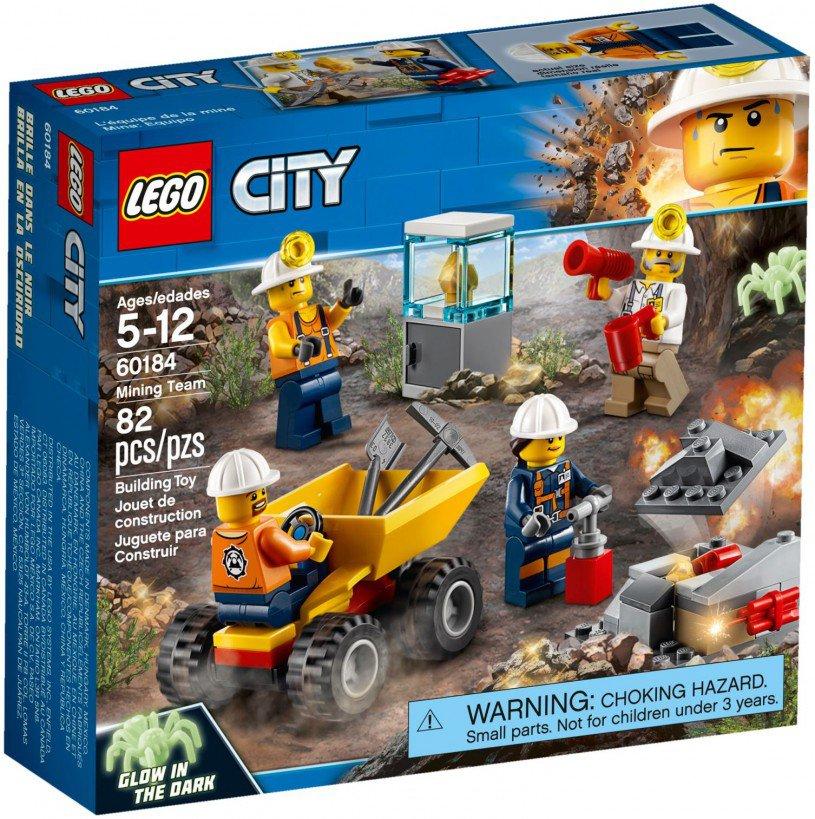 LEGO 60184 City: Mijnbouwteam
