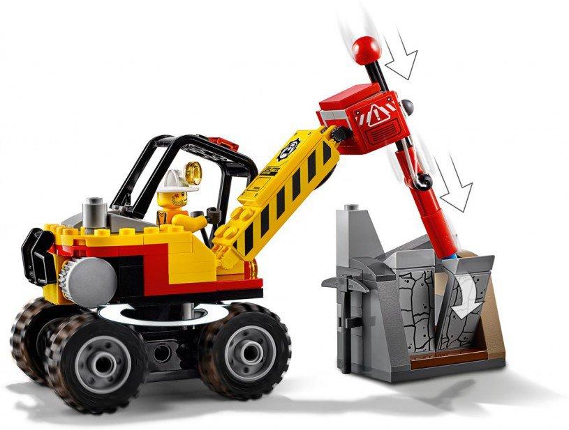 LEGO 60185 City: Krachtige mijnbouwsplitter