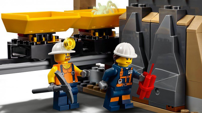 LEGO 60188 City: Mijnbouw expert locatie