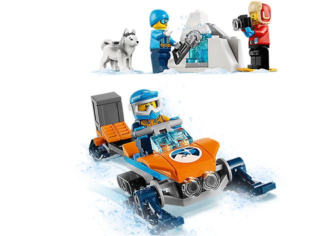 LEGO 60191 City: Poolonderzoekersteam