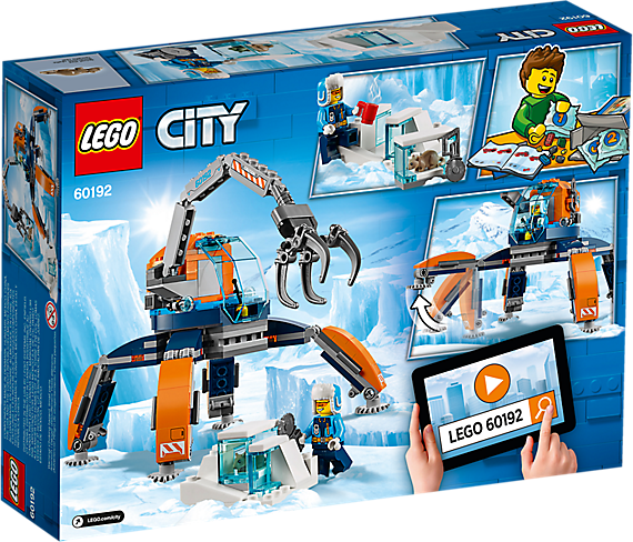 LEGO 60192 City: Poolijscrawler