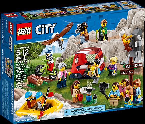 LEGO 60202 City: Personenpakket - Buitenavonturen