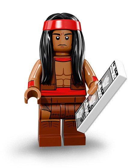 LEGO 71020 Batman Minifiguren: Apache Chief
