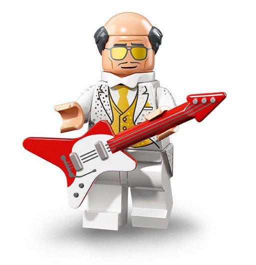 LEGO 71020 Batman Minifiguren: Disco Alfred Pennyworth