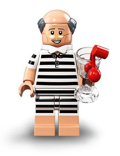 LEGO 71020 Batman Minifiguren: Vakantie Alfred Pennyworth