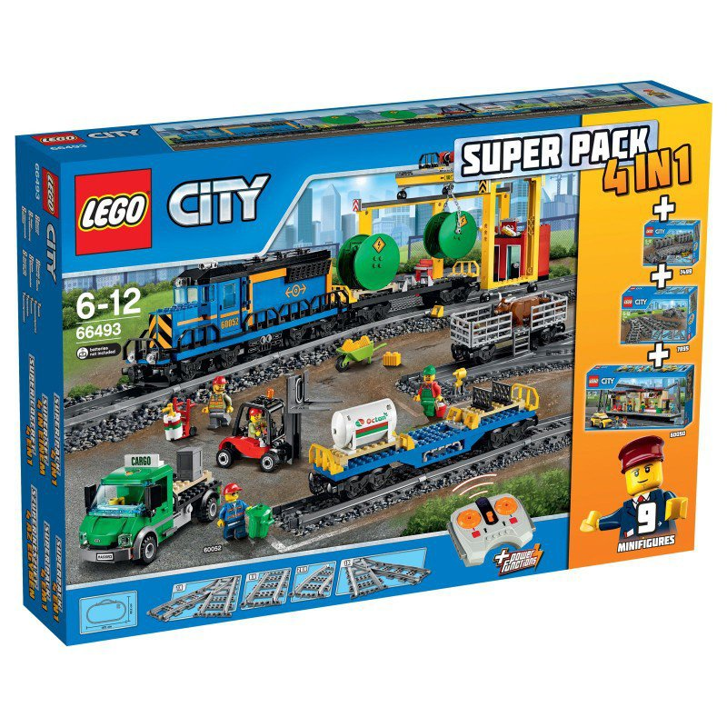 rc toy trains with Lego Trein Superpack 4 In 1 66493 on Bell Boeing V 22 Osprey further Watch additionally Build R2 D2 further Jurassic World Park Minifigures Lot Of 8 Dinosaurs Indominus Rex Fit With Lego Q as well Build Your Own Robi.