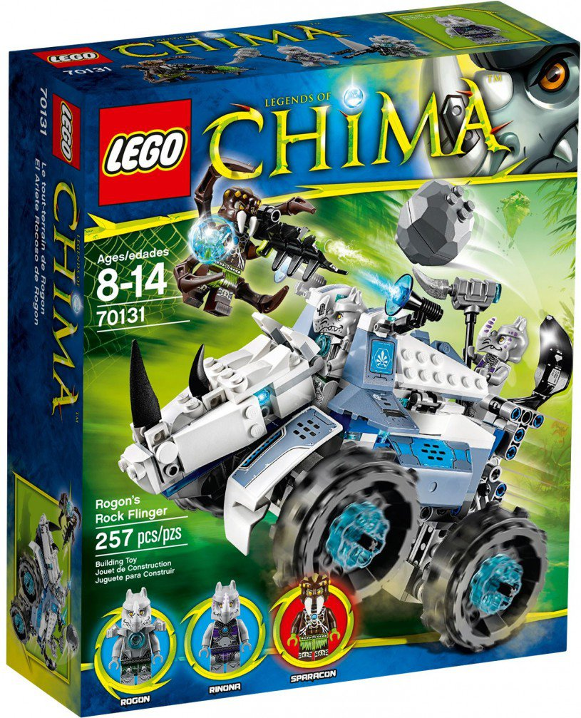 LEGO Legends of Chima Rogons Rock Flinger 70131