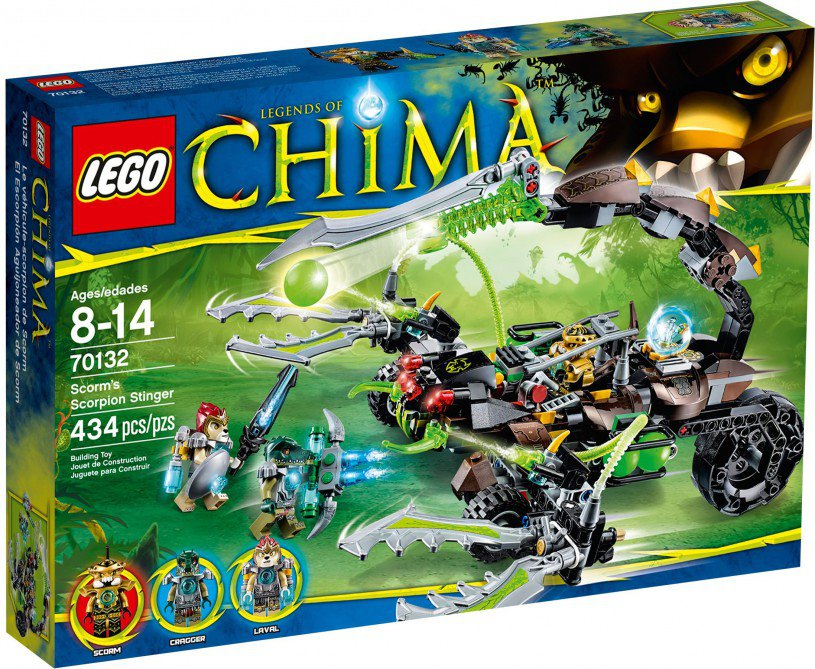 LEGO Legends of Chima Scorm's Scorpion Stinger 70132