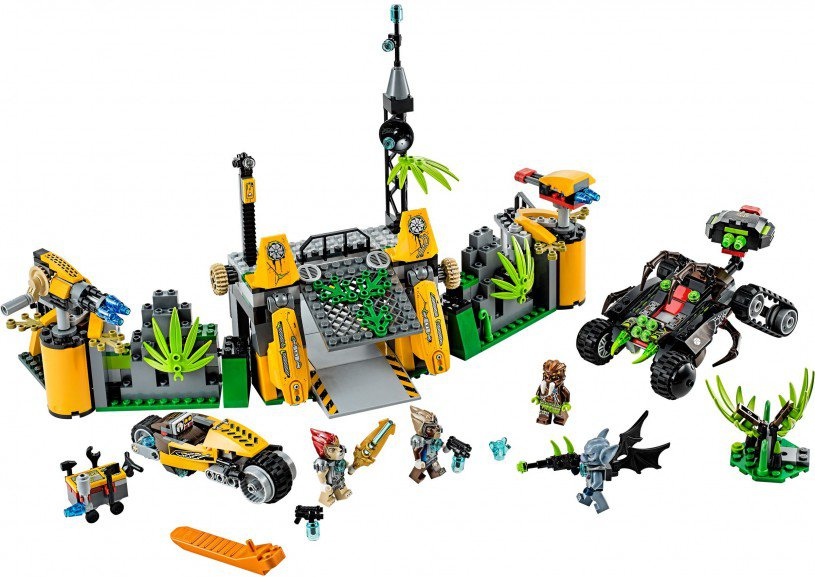 LEGO Chima Lavertus' Buitengebied Basis 70134
