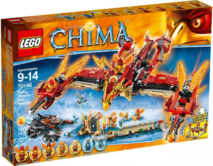 LEGO Legends of Chima Phoenix Vuurtempel 70146