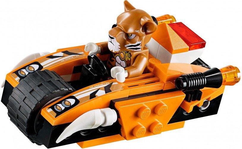 LEGO Legends of Chima Tiger's Mobiele Commandopost 70224