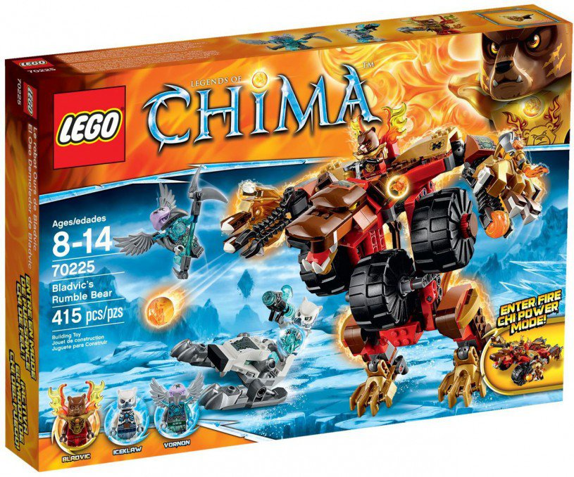 LEGO Legends of Chima Bladvic's vechtmachine 70225