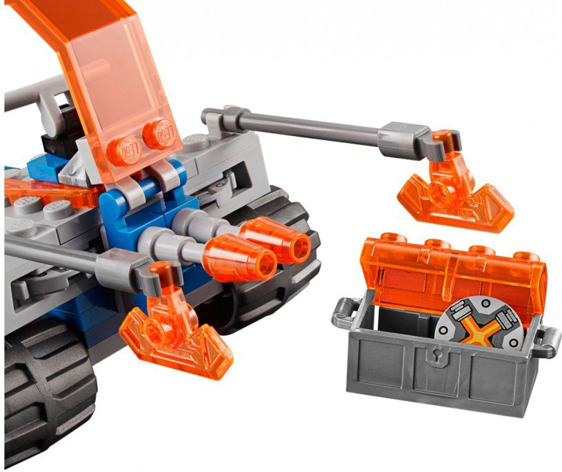 LEGO Nexo Knights - Knighton strijdblaster 70310