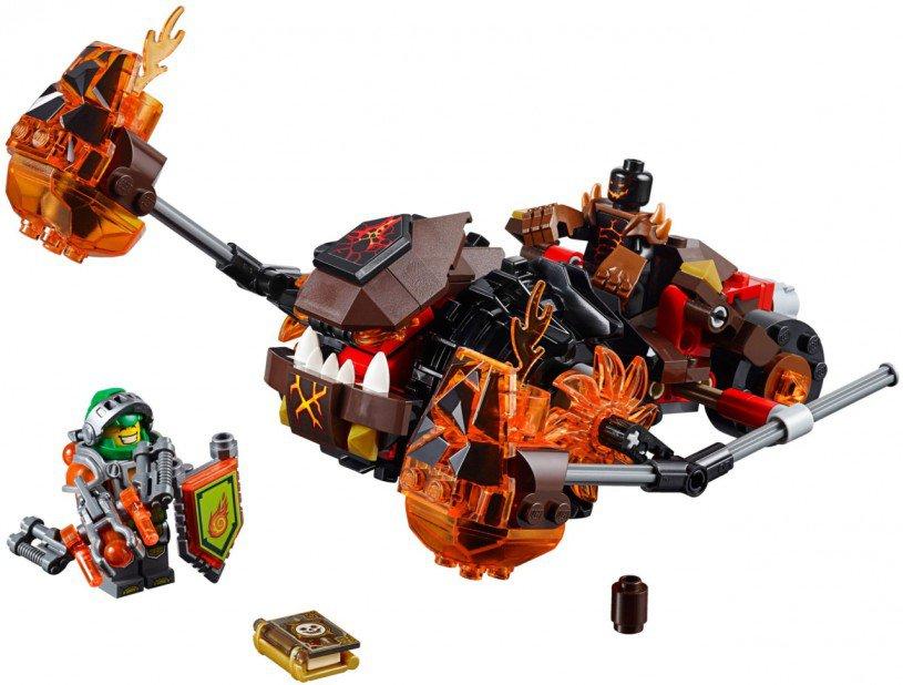 LEGO Nexo Knights - Moltor's Lavabeuker 70313