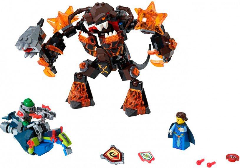 LEGO Nexo Knights Infernox neemt de koningin gevangen 70325