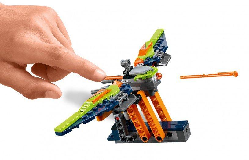 LEGO 70355 Nexo Knights: Aarons Rock Climber