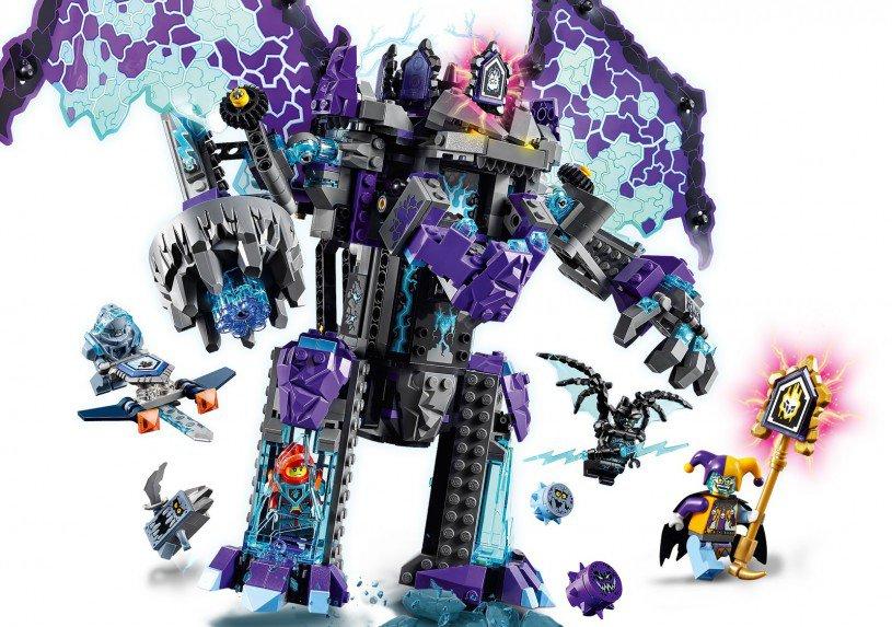LEGO 70356 Nexo Knights: De stenen kolos der ultieme vernietiging