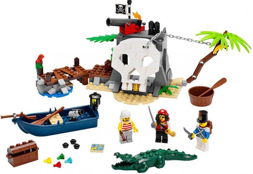 LEGO Piraten - Schatteneiland 70411