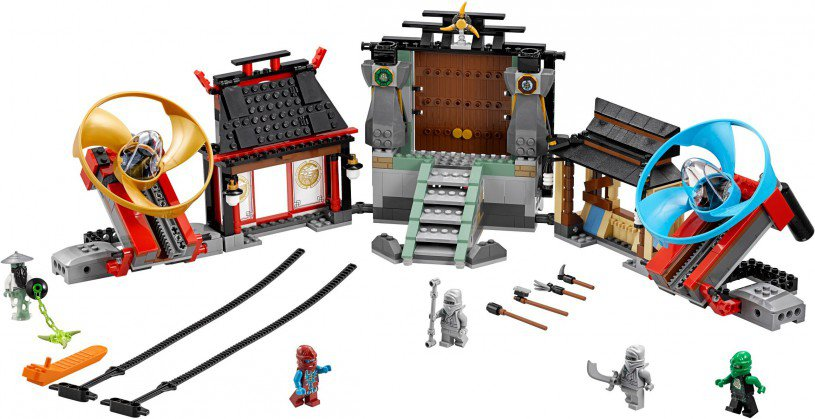 LEGO Ninjago 70590: Airjitzu Temple Grounds
