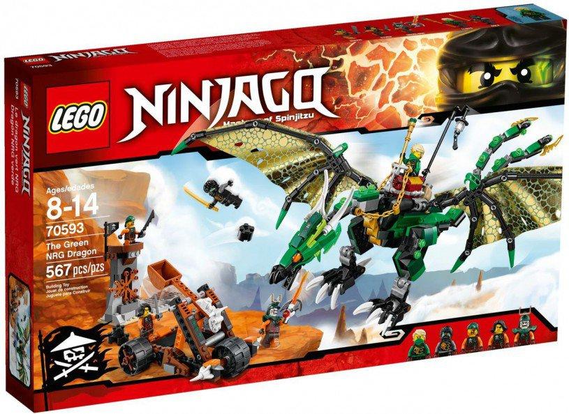 LEGO Ninjago 70593: Lloyd's Groene NRG Draak