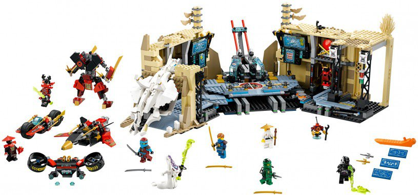 LEGO Ninjago 70596: Samurai X Grottenchaos