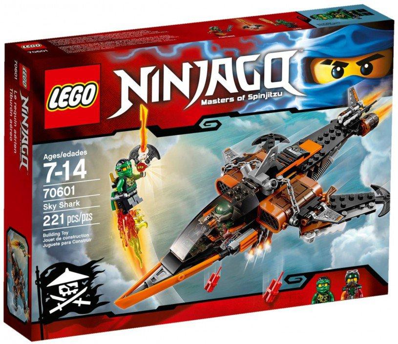 LEGO Ninjago 70601: Haaien vliegtuig