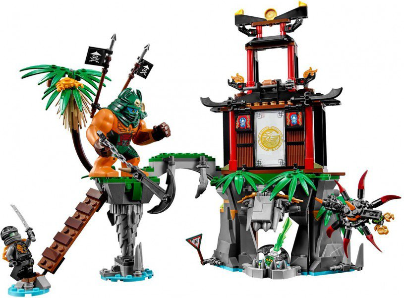 LEGO Ninjago 70604: Tiger Widow Eiland