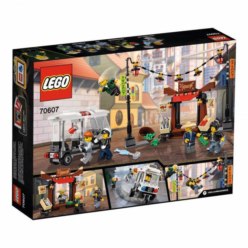 LEGO 70607 Ninjago: achtervolging door de stad