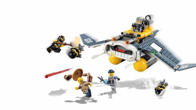 LEGO 70609 Ninjago: Mantarog bommenwerper