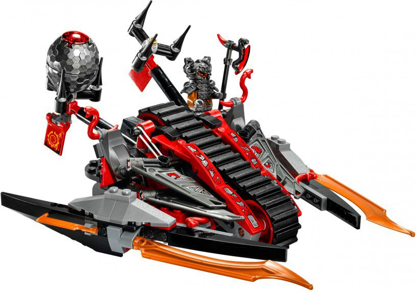 LEGO Ninjago 70624: Vermillion invasievoertuig