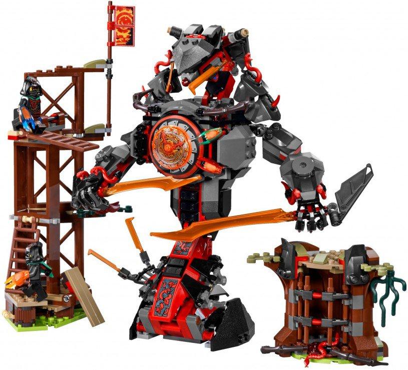 LEGO Ninjago 70626: De komst van de Iron Doom