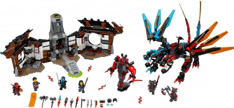 LEGO Ninjago 70627: Drakensmederij