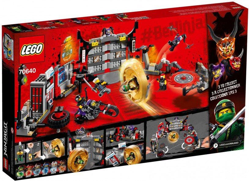 LEGO 70640 Ninjago: S.O.G. hoofdkwartier