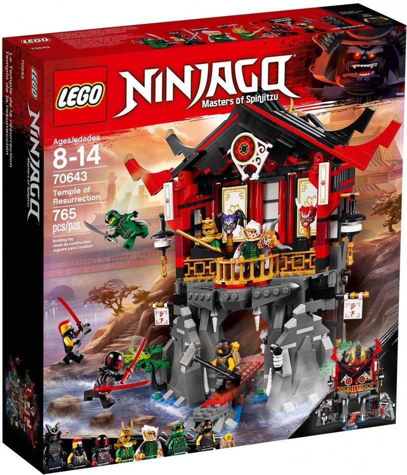 LEGO 70643 Ninjago: Tempel van de opstand