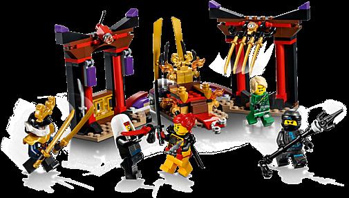 LEGO 70651 Ninjago: Troonzaalduel