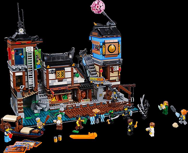 LEGO 70657 Ninjago: NINJAGO® City haven
