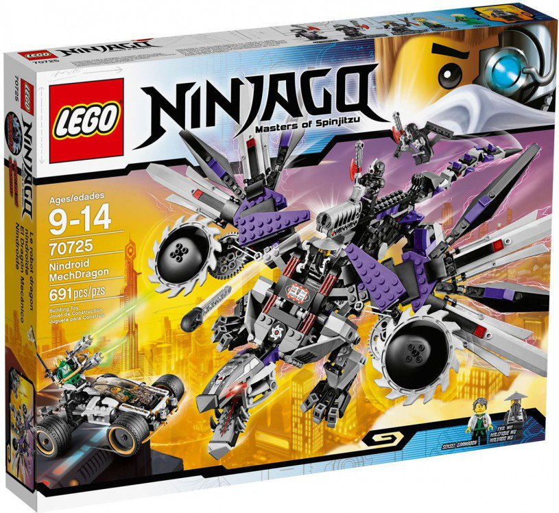 LEGO Ninjago Nindroid MechDragon 70725