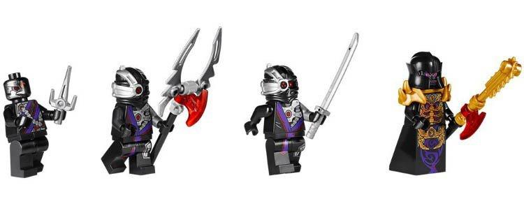 LEGO 70728 Ninjago: Battle for Ninjago City